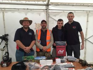 Minelab & Crawfords at Scotland's Largest Ever MD Rally Denholm 2014